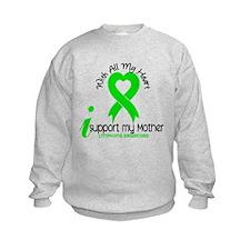 With All My Heart Lymphoma Sweatshirt