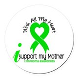 Cancers lymphoma Car Magnets