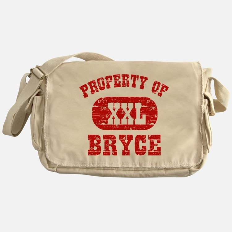 Property Of Bryce Messenger Bag