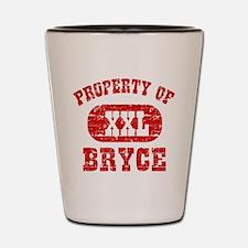Property Of Bryce Shot Glass