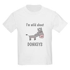 Wild About Donkeys T-Shirt