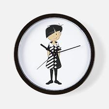 Cool Mod Girl Wall Clock