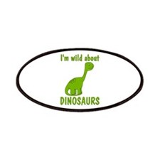 Wild About Dinosaurs Patches