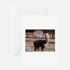 I am Spartacus Drama Llama Greeting Card
