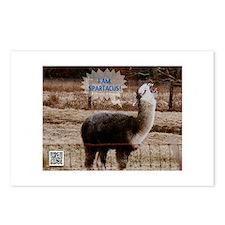 I am Spartacus Drama Llama Postcards (Package of 8