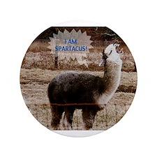 "I am Spartacus Drama Llama 3.5"" Button (100 pack)"