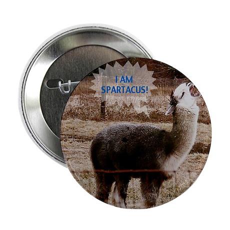 """I am Spartacus Drama Llama 2.25"""" Button"""