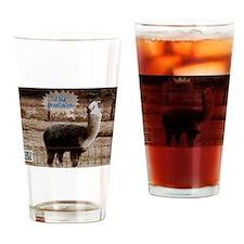 I am Spartacus Drama Llama Drinking Glass