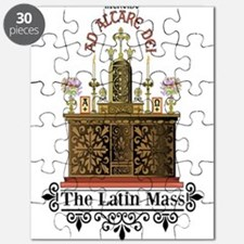 Latin Mass Puzzle (Putting it Back Together!)