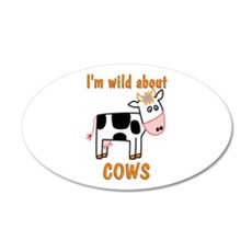 Wild About Cows Wall Decal
