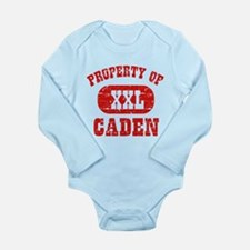 Property Of Caden Long Sleeve Infant Bodysuit