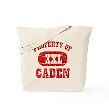 Property Of Caden Tote Bag
