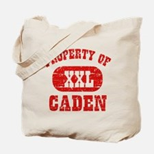 Property Of Caden Tote Bag