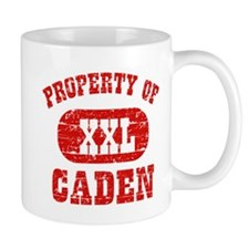 Property Of Caden Mug