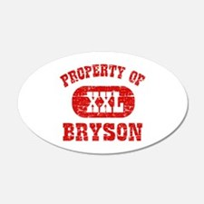 Property Of Bryson Wall Decal