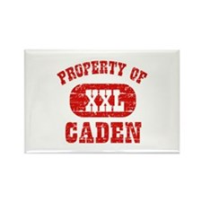 Property Of Caden Rectangle Magnet