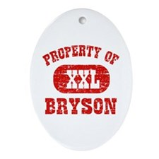 Property Of Bryson Ornament (Oval)