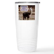 Hendrix Drama Llama Travel Mug