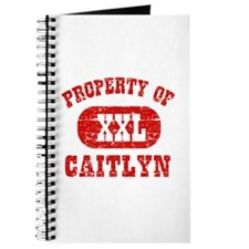 Property Of Caitlyn Journal