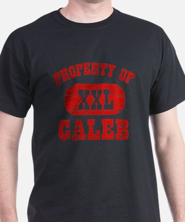 Property Of Caleb T-Shirt