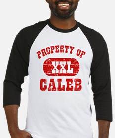 Property Of Caleb Baseball Jersey