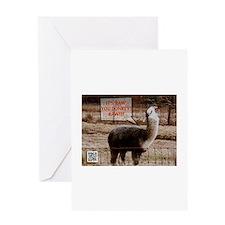 Gordon Ramsay Drama Llama Greeting Card