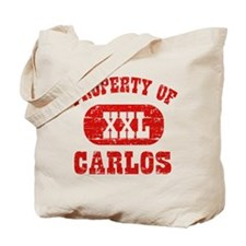 Property Of Carlos Tote Bag