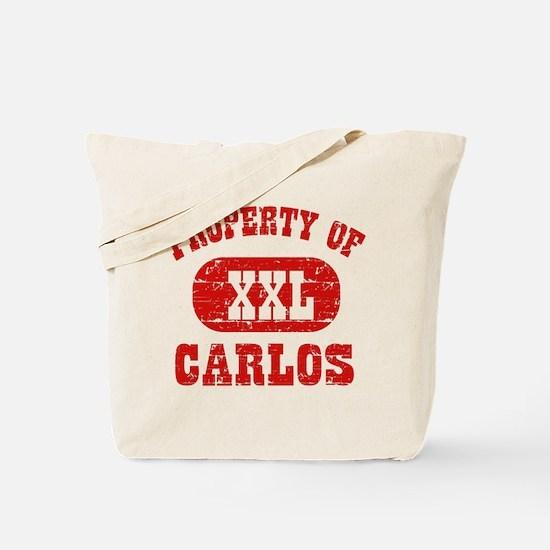 Property Of Carlos Tote Bag