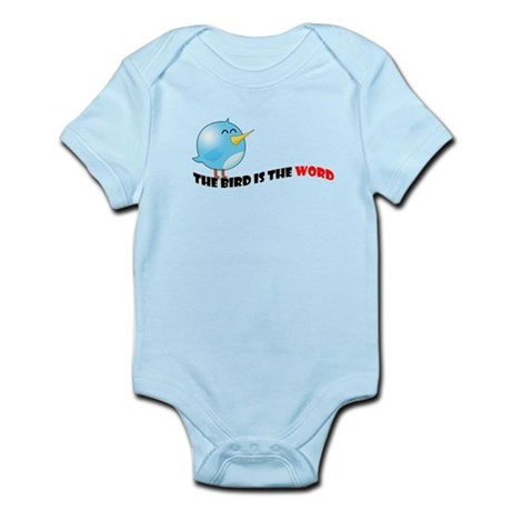 Bird is the word Infant Bodysuit