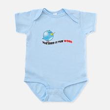 Bird is the word Infant Bodysuit