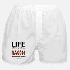 Bacon Is The Answer Boxer Shorts