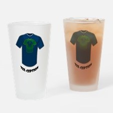Tee-ception Drinking Glass