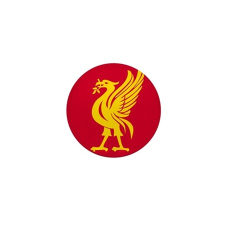 Liverbird Mini Button