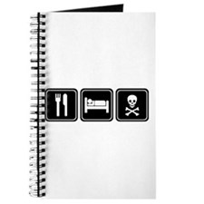 EAT SLEEP PIRATE Journal