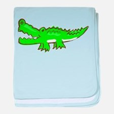 Aligator baby blanket