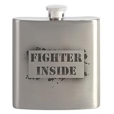 Fighter Inside Flask