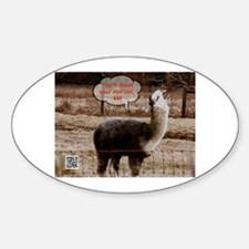 Red Ryder Drama Llama Decal