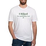 Appalachian trail Fitted Light T-Shirts