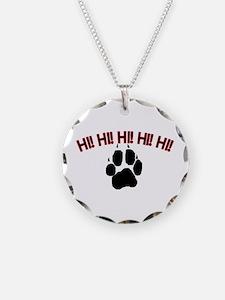 Hi! Dog Necklace