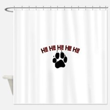 Hi! Dog Shower Curtain