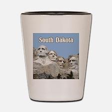 South Dakota Mount Rushmore Shot Glass