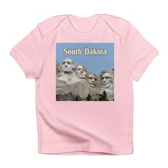 South Dakota Mount Rushmore Infant T-Shirt