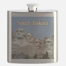 South Dakota Mount Rushmore Flask