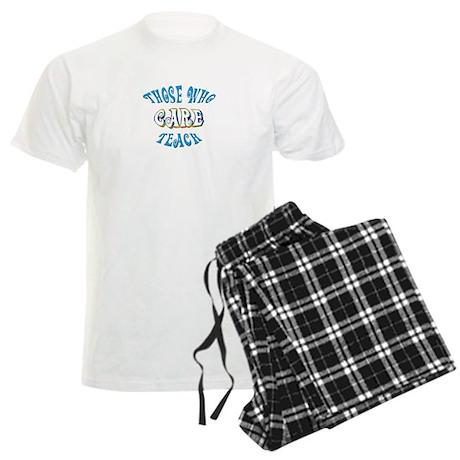 Those Who Care Teach Men's Light Pajamas