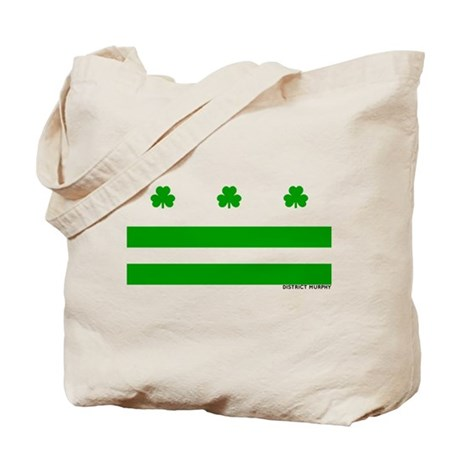 The Official District Murphy Flag Tote Bag