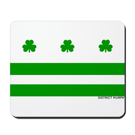 The Official District Murphy Flag Mousepad