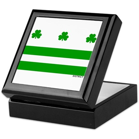 The Official District Murphy Flag Keepsake Box