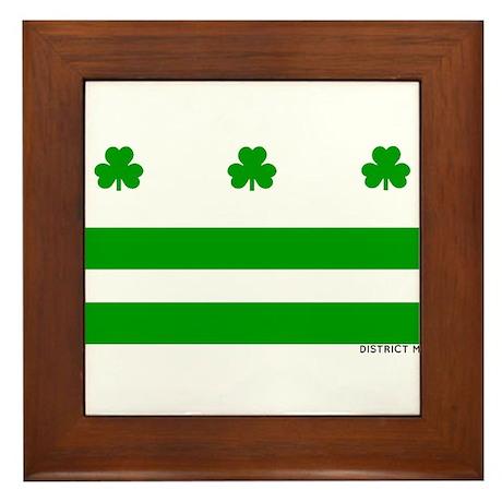 The Official District Murphy Flag Framed Tile