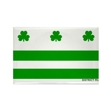 The Official District Murphy Flag Rectangle Magnet