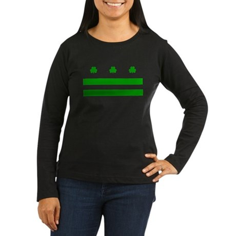 The Official District Murphy Flag Women's Long Sle